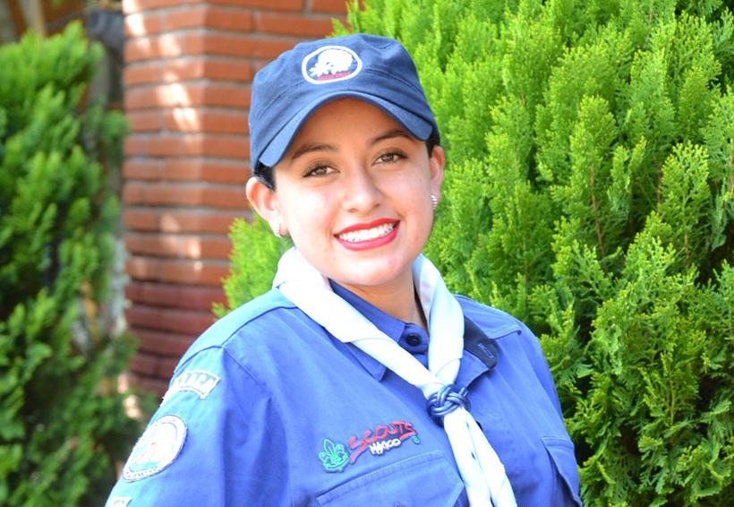 Kathya, nueva integrante de los scouts | El Imparcial de Oaxaca