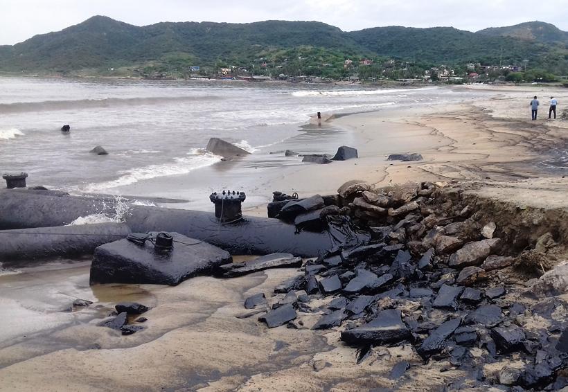 Retiran la contaminación de Salina Cruz, Oaxaca
