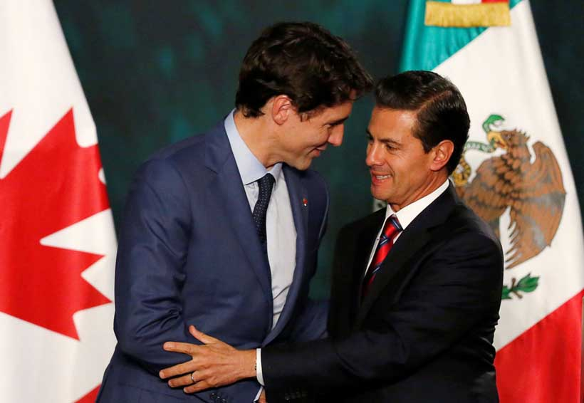 EPN agradece a Trudeau la solidaridad de Canadá tras sismos | El Imparcial de Oaxaca