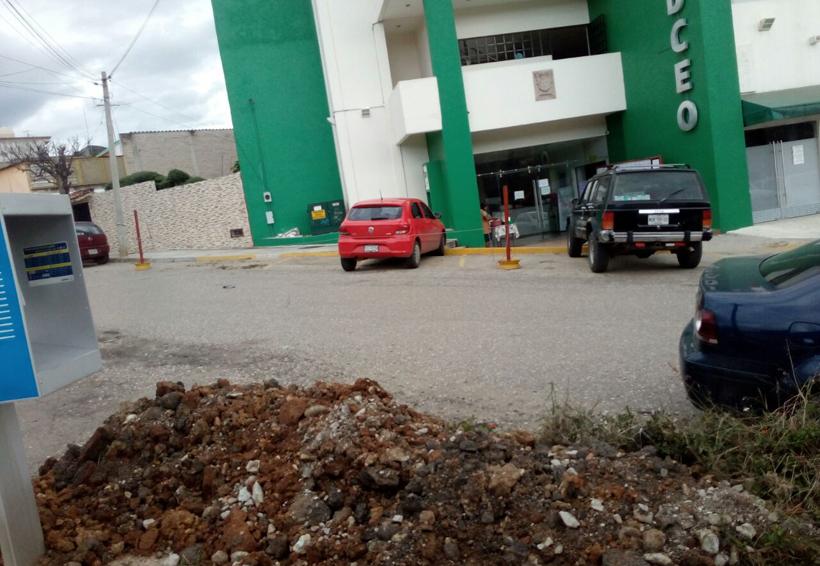 Vecinos de Villa de Antequera acusan de obras inconclusas