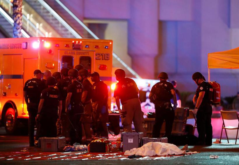 Al menos 50 muertos por tiroteo en Las Vegas y más de 200 heridos