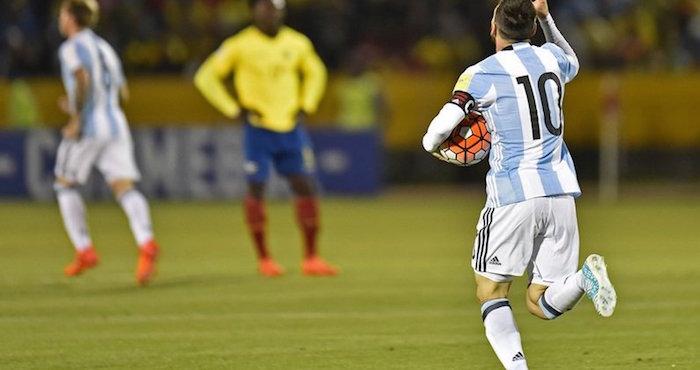 Argentina gana boleto a Rusia 2018 gracias a Messi | El Imparcial de Oaxaca
