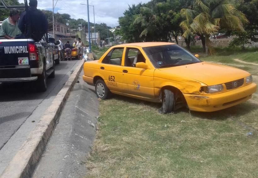 Ebrio provoca taxista accidente en Salina Cruz | El Imparcial de Oaxaca