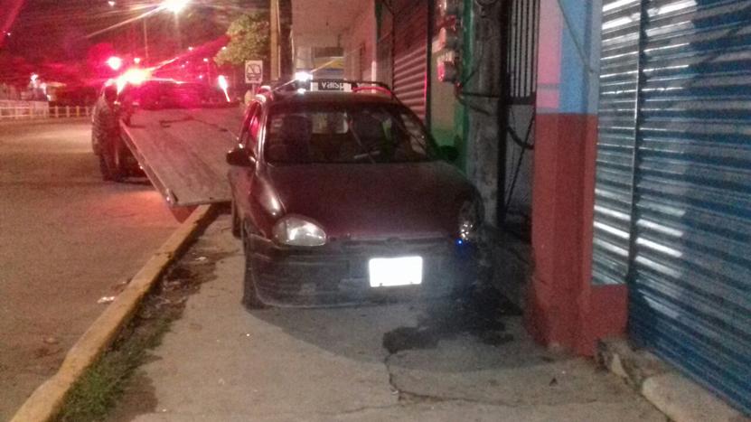 Se impacta al ir borracho en Salina Cruz, Oaxaca | El Imparcial de Oaxaca