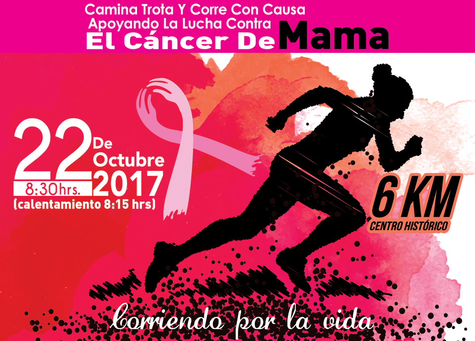 ¡Corre contra elcáncer de mama! | El Imparcial de Oaxaca