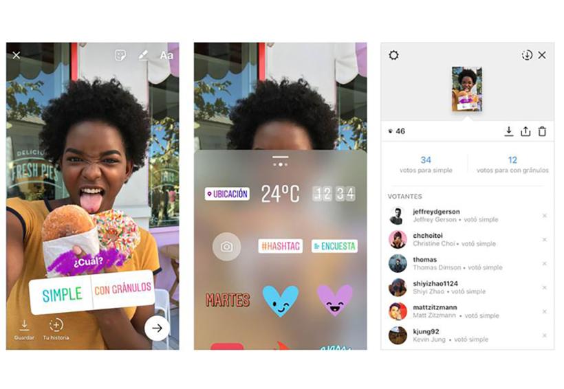 Instagram acaba de agregar encuestas interactivas en sus Stories | El Imparcial de Oaxaca