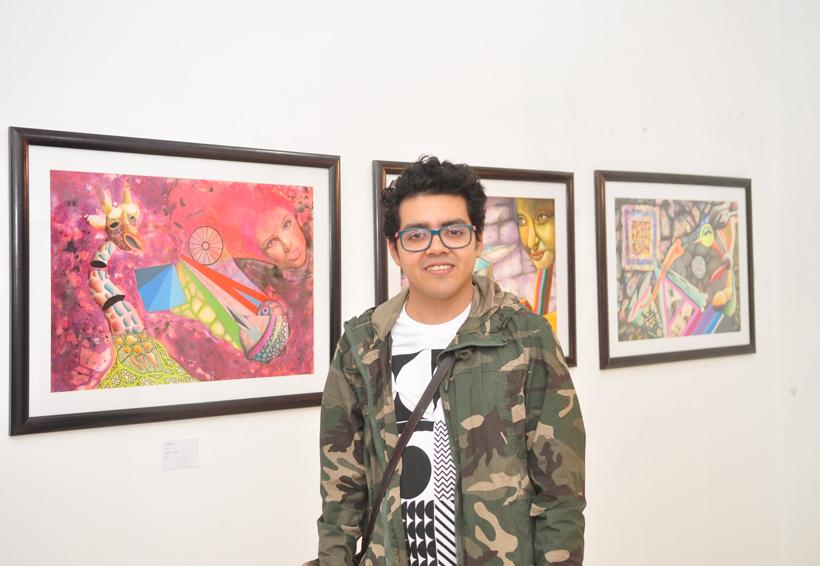 José Luis plasma su arte