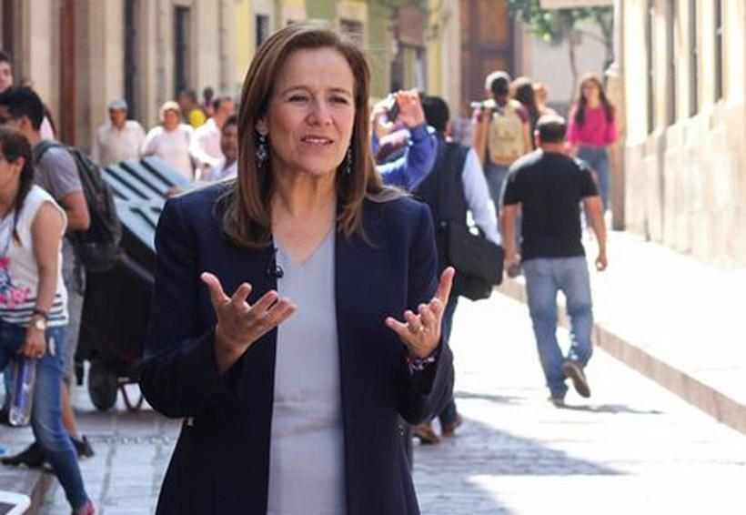 Margarita Zavala no descarta ser candidata independiente