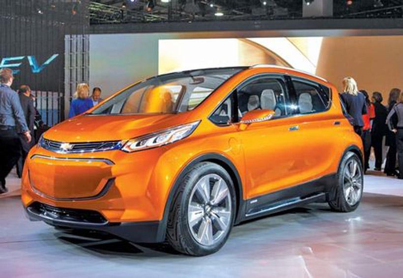 GM prepara lanzamiento de 20 vehículos eléctricos