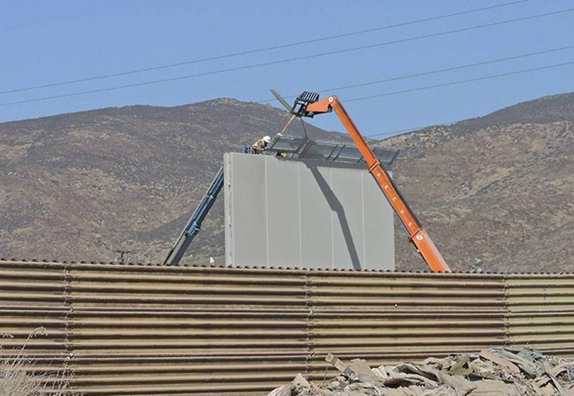 EU estima que prototipos del muro estarán a finales de octubre | El Imparcial de Oaxaca