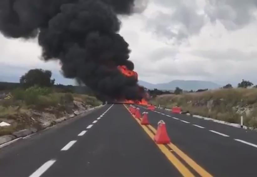 Cierran autopista Cuacnopalan-Oaxaca por explosión de pipa | El Imparcial de Oaxaca