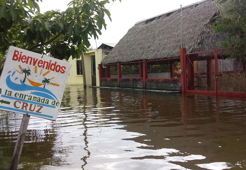 Playa Vicente, Juchitán, bajo el agua | El Imparcial de Oaxaca