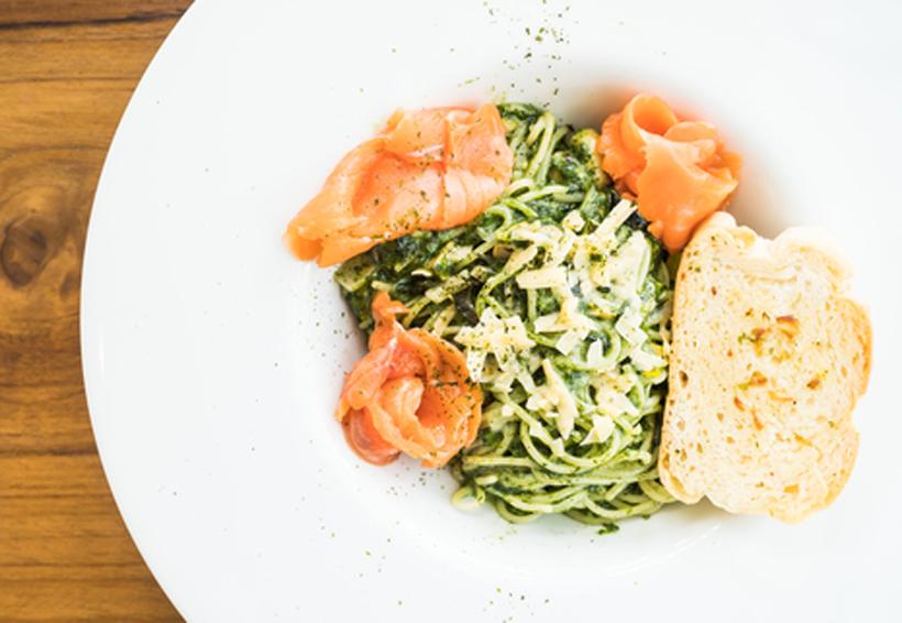 Espagueti de calabacita con salmón | El Imparcial de Oaxaca