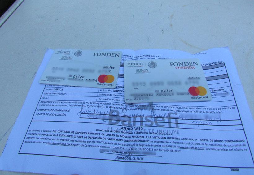 Entrega Gobierno Federal tarjetas sin fondos en Ixtaltepec, Oaxaca | El Imparcial de Oaxaca