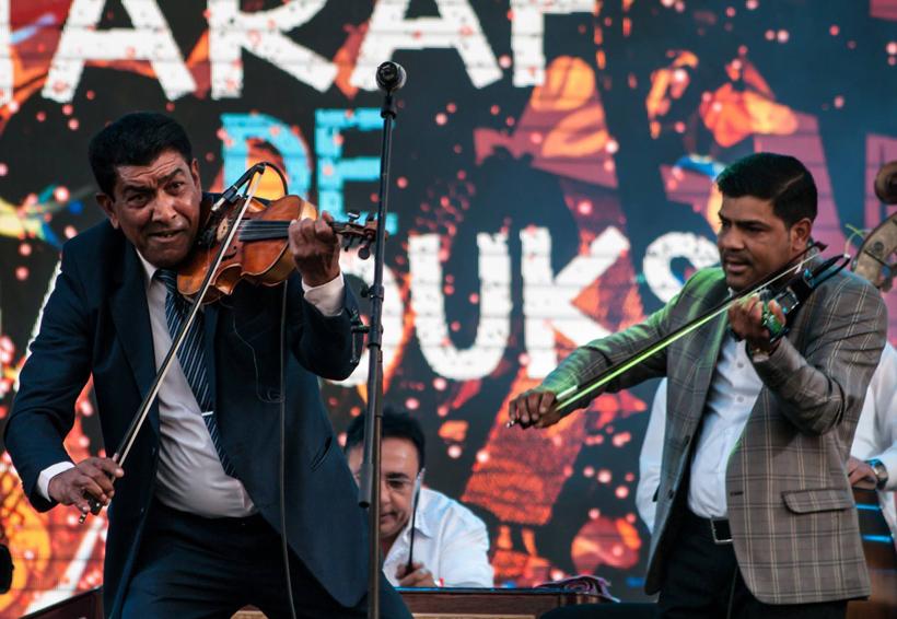 Celebra Taraf de Haïdouks en Oaxaca