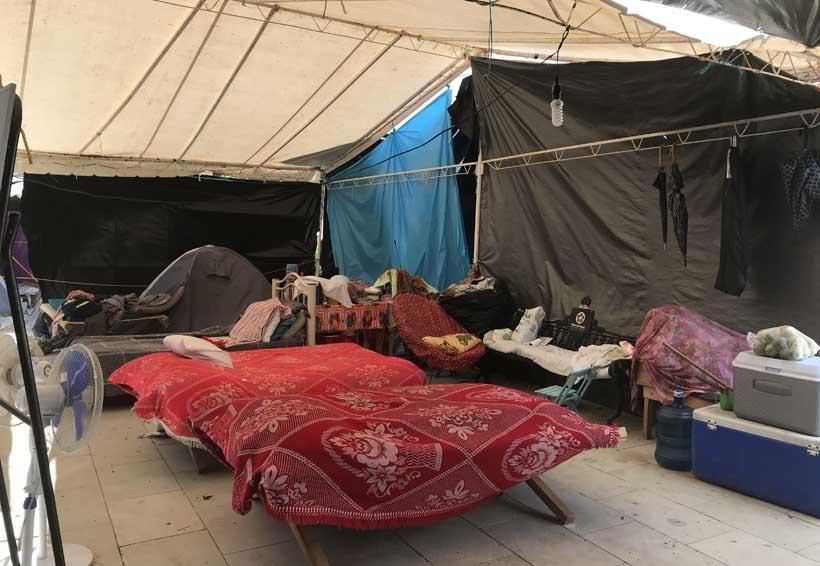 Refugios en el Istmo  aproximadamente a un 10 por ciento
