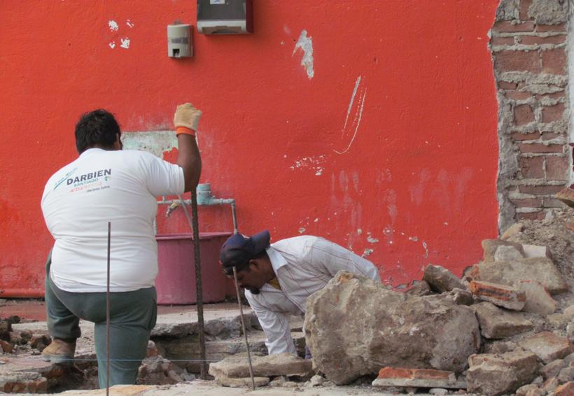 Fugas de agua en el Istmo por demoliciones | El Imparcial de Oaxaca