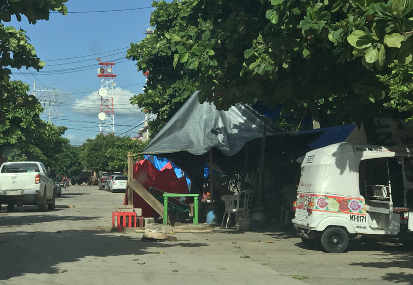 A un mes del sismo en el Istmo, la gente sigue viviendo en la calle