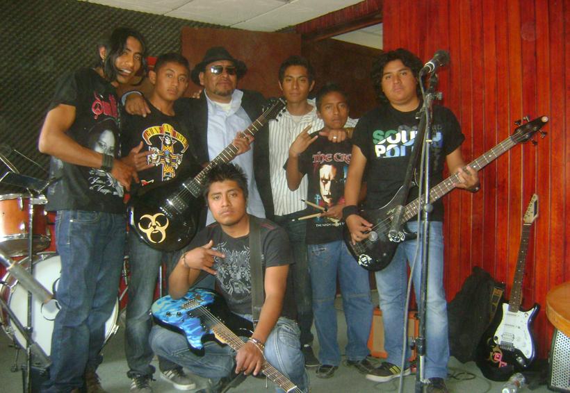 El rock genera una revolución en la ciudad de Tlaxiaco, Oaxaca