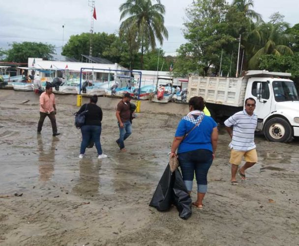 Solicita Comité de Playas Limpias de Zicatela, barredora de playa