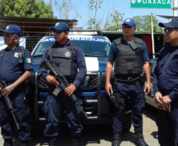 Faltan policías en Tuxtepec, Oaxaca