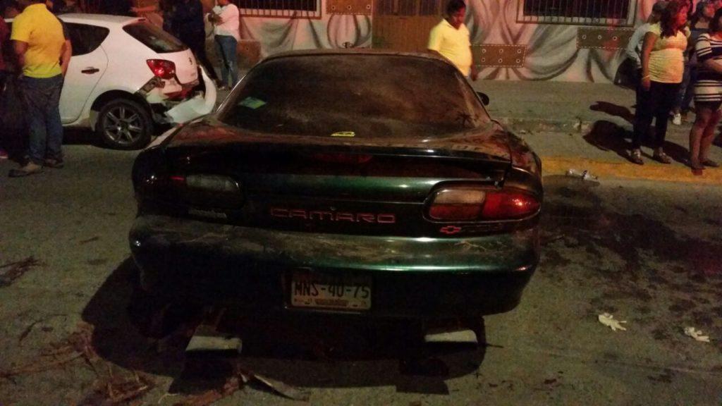 Atropella a una persona y al fugarse choca en Salina Cruz, Oaxaca | El Imparcial de Oaxaca