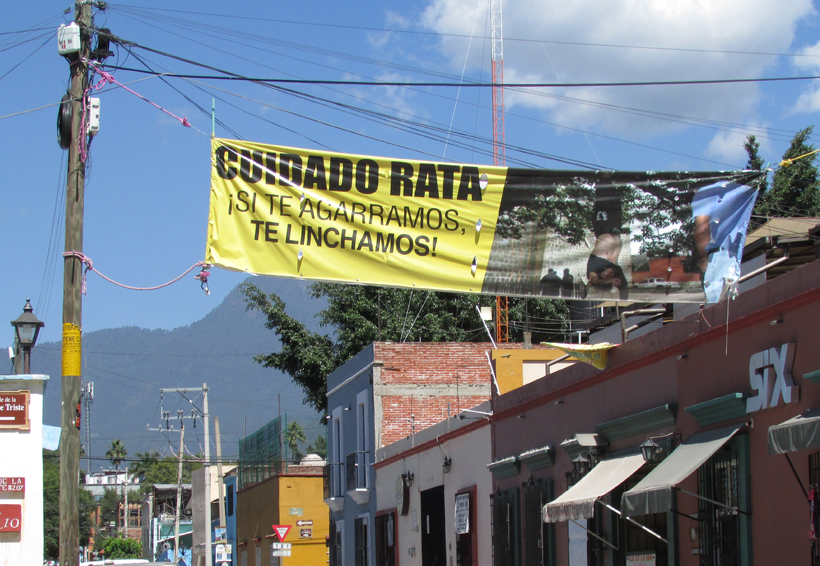 Habitantes de Oaxaca se organizan para  combatir a la delincuencia | El Imparcial de Oaxaca
