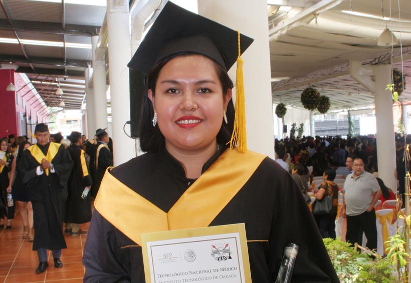 ¡Mishel se gradua del Tec! | El Imparcial de Oaxaca