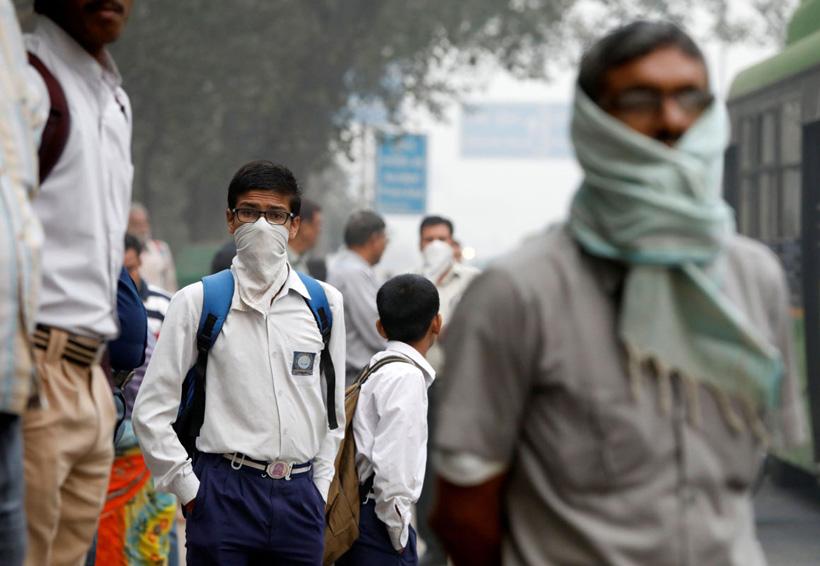 Cierran escuelas por alta contaminación en Nueva Delhi | El Imparcial de Oaxaca