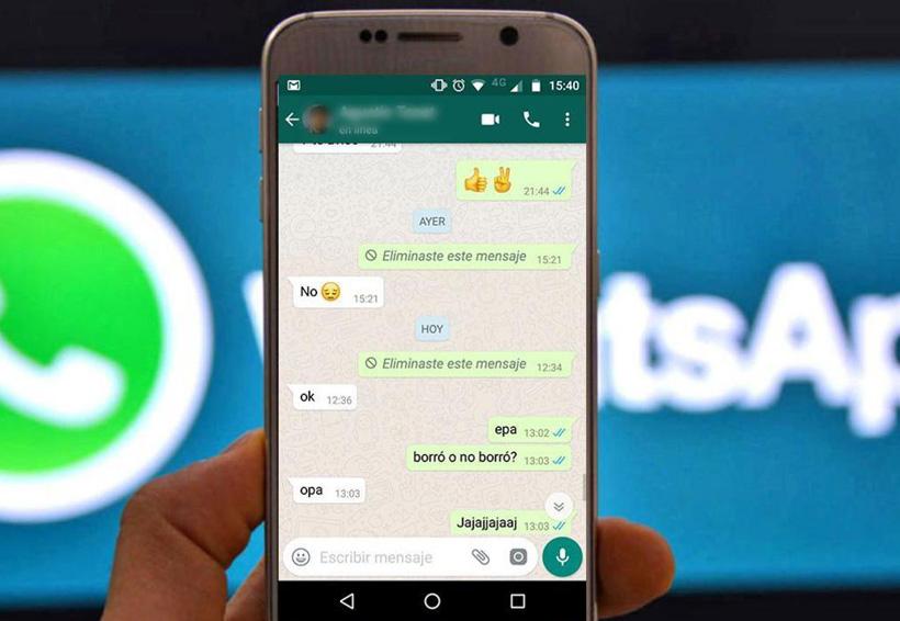 Un truco te permite borrar mensajes viejos en WhatsApp | El Imparcial de Oaxaca