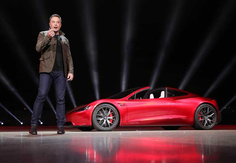 Elon Musk  presenta el nuevo Tesla Roadster | El Imparcial de Oaxaca
