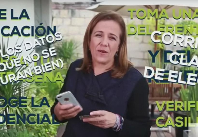 Video: Margarita Zavala se burló de lo lenta que es la aplicación del INE | El Imparcial de Oaxaca