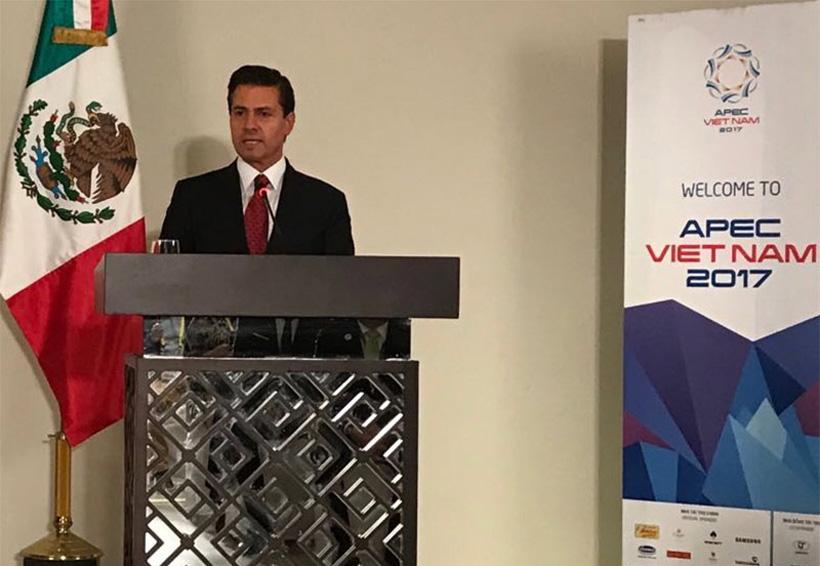 Acuerdo comercial en CPTPP 'está en ruta', destaca Peña Nieto | El Imparcial de Oaxaca