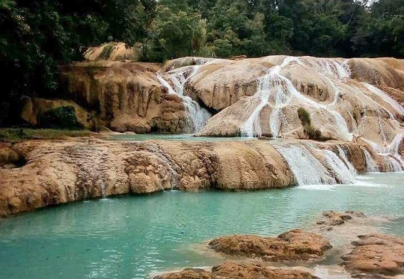 Bajo caudal en cascadas de Agua Azul, por desvío natural: Conagua | El Imparcial de Oaxaca