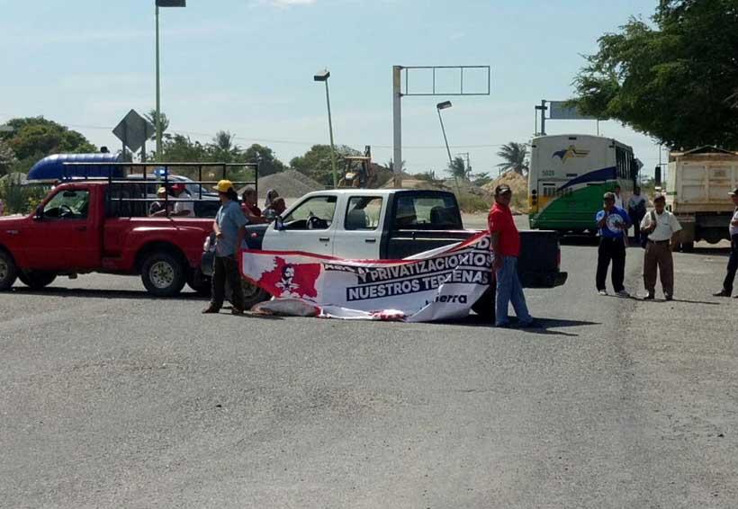 En el Istmo protestan contra por las altas tarifas de CFE | El Imparcial de Oaxaca