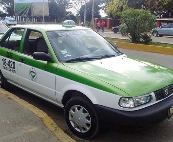 Taxistas  de Tuxtepec esperan  repunte a fin de año