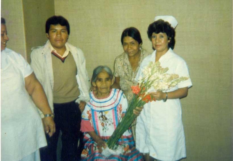 María Sabina viajó por  última vez hace 32 años