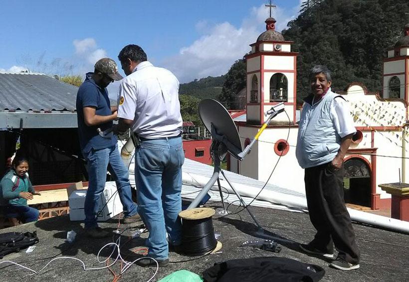 Chapulapa tendrá servicio de Internet | El Imparcial de Oaxaca