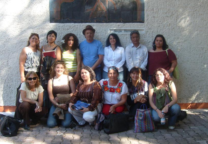 Reencuentro Internacional de  Mujeres Poetas en la Mixteca de Oaxaca