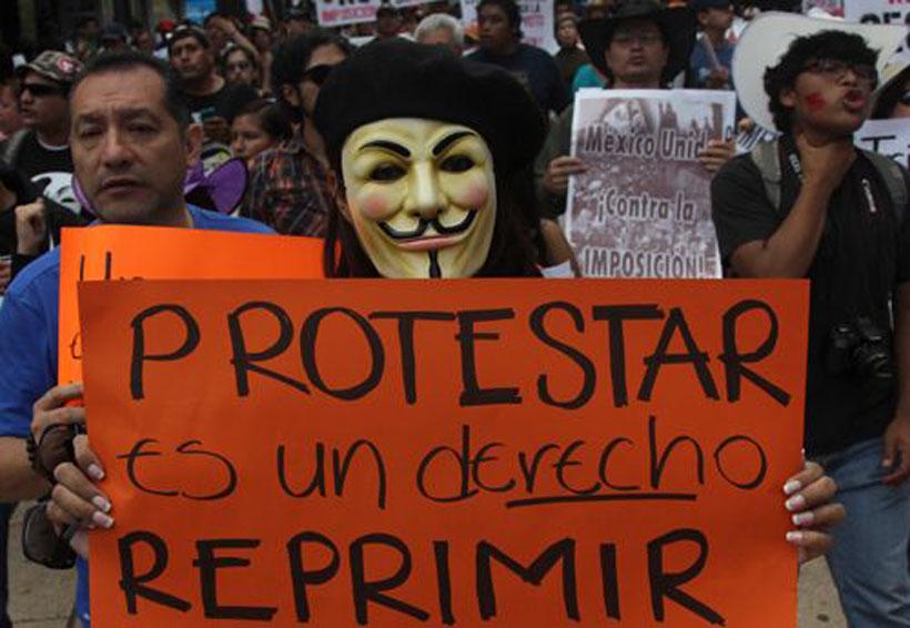 Marchan docentes en Huatulco, Oaxaca | El Imparcial de Oaxaca