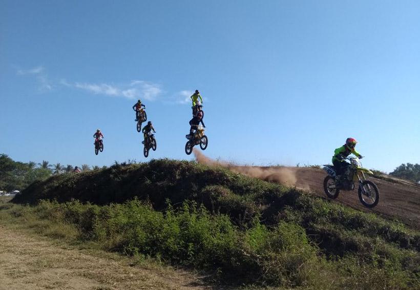 Motocross en Puerto Escondido, Oaxaca