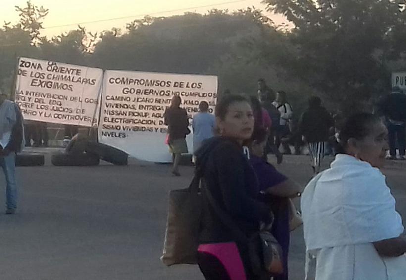 Chimalapas piden  atención de gobiernos