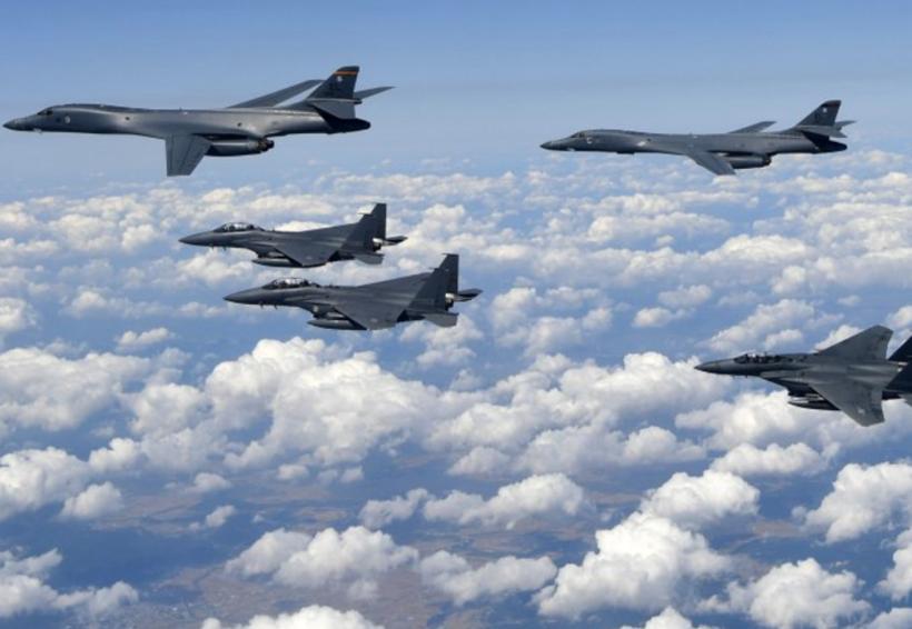 Norcorea asegura que bombardeos de EU sobrevolaron la península coreana | El Imparcial de Oaxaca