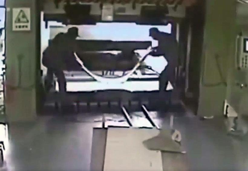 Video: Un operario mata a su compañero con una prensa hidráulica | El Imparcial de Oaxaca