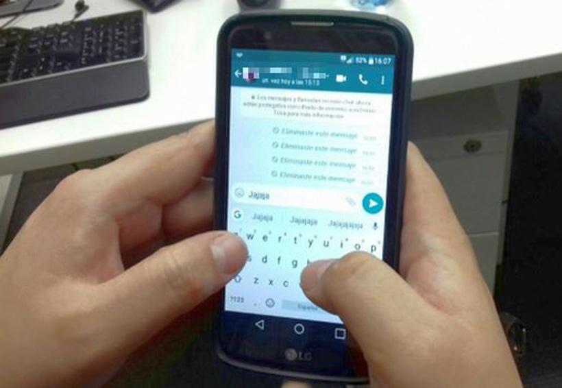 ¿Cómo puedo ver un mensaje eliminado por un contacto en WhatsApp? | El Imparcial de Oaxaca