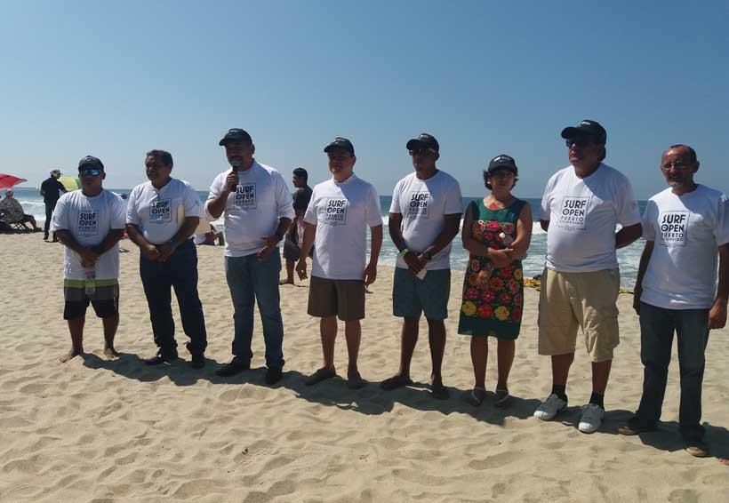 Inauguran un desangelado Internacional Torneo de Surf