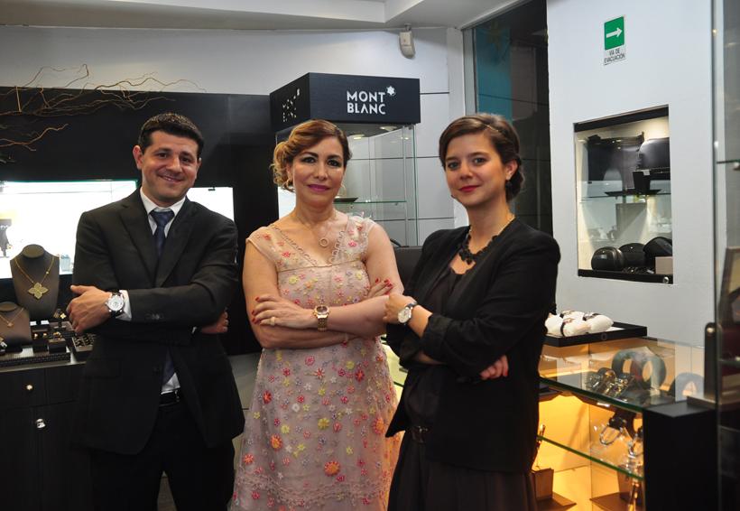 Exhibición de alta relojería suiza y joyería