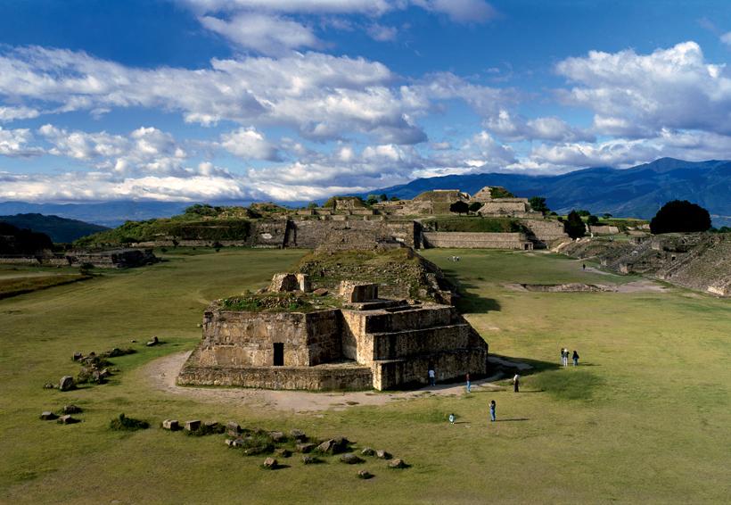 Piden cuidar y conservar la zona arqueológica de Monte Albán | El Imparcial de Oaxaca