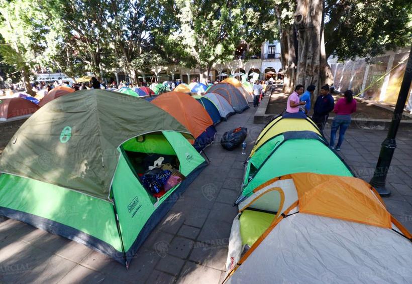 Reinstala Sección 22 plantón en el zócalo de Oaxaca | El Imparcial de Oaxaca
