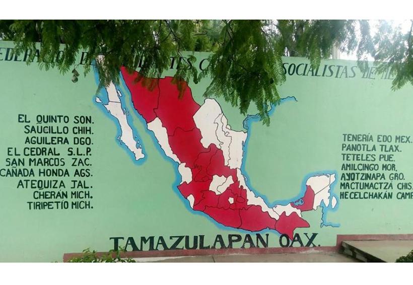 Normal de Tamazulápam,  celebra 92 años de lucha